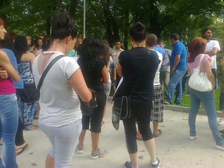 Протест срещу увеличаване на таксите в детските градини
