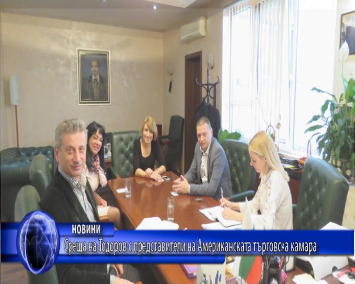 Среща на Тодоров с представители на Американската търговска камара