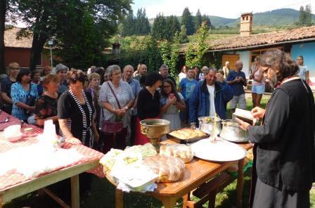 Църквата в Копривщица отбеляза своя празник