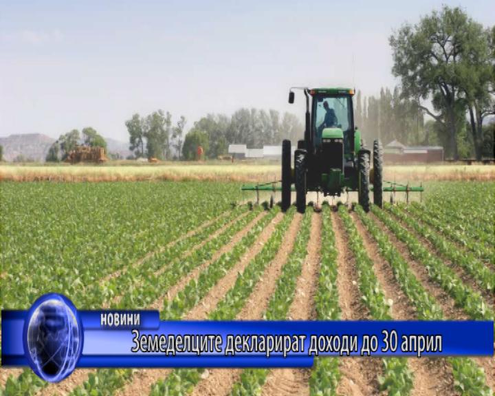 Земеделците декларират доходи до 30 април