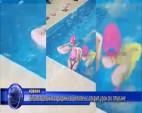 Деца от детската градина в Челопеч с открит урок по плуване