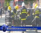 Пожарната служба проведе демонстрация в Пирдоп