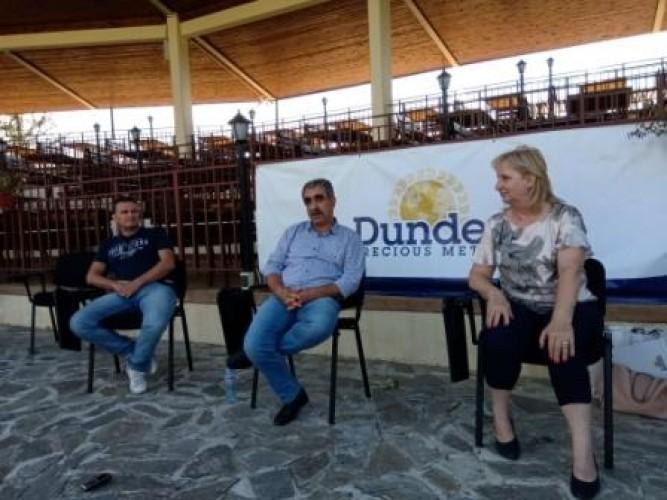 """Ръководството на """"Дънди"""" се срещна с местните медии"""
