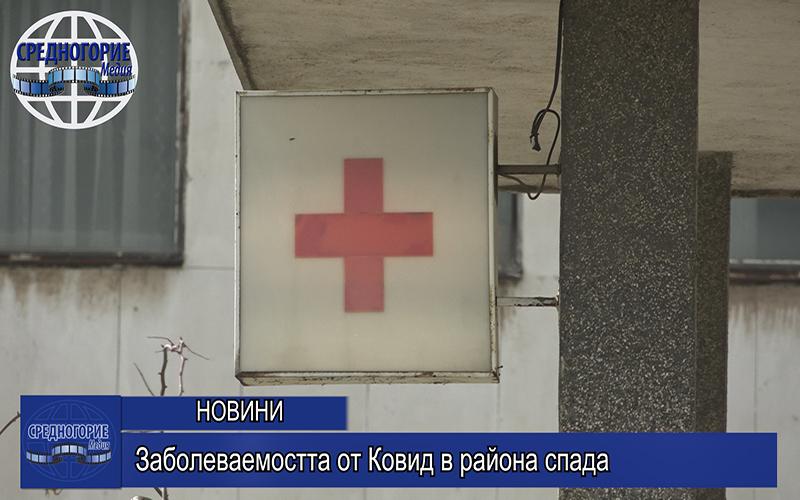Заболеваемостта от Ковид в района спада
