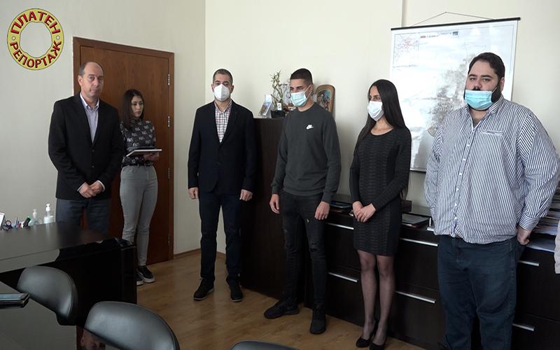 Платен репортаж: Златица удостои Асен Згуровски с най-високото отличие